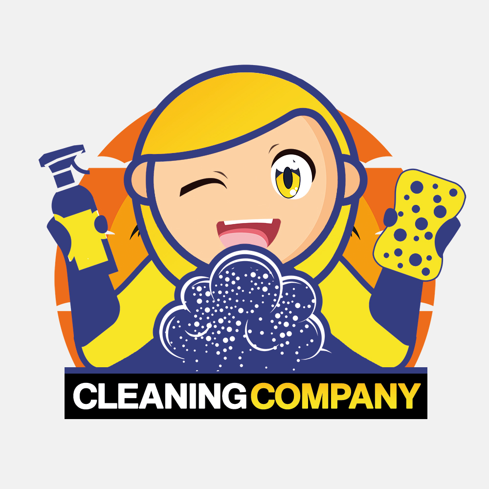 Cleaning Company Logo Design by Visual Eagle