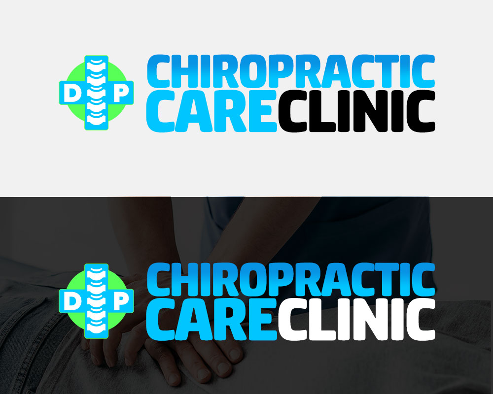 DP Chiropractic Care Clinic Logo Design