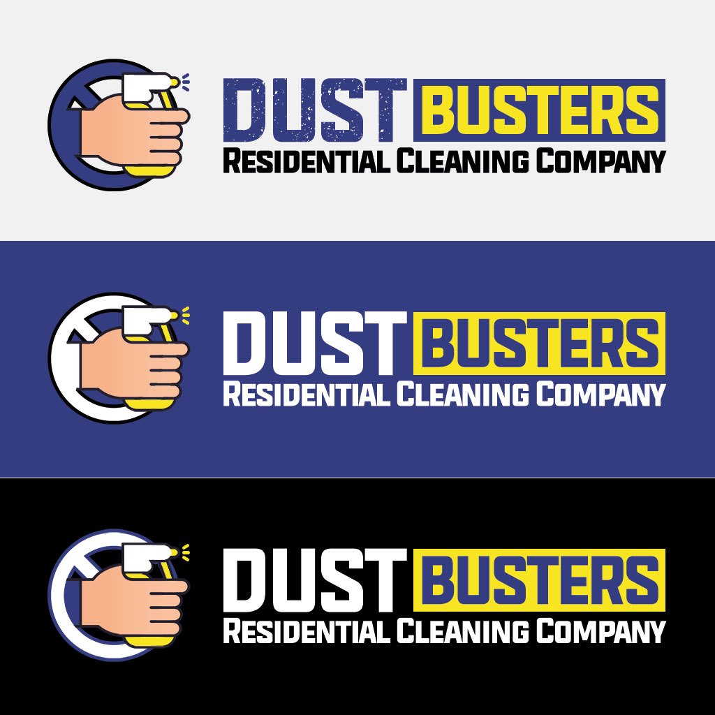 Dust Busters Logo Design