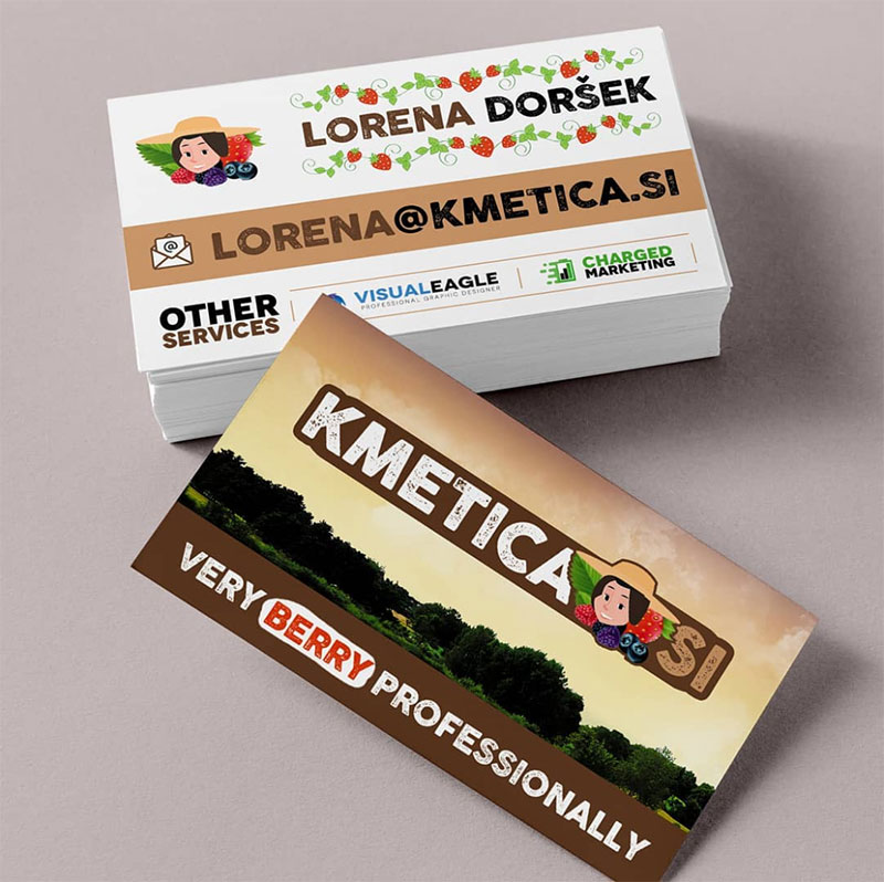 Kmetica Si Business Card
