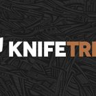 Knife Tribe Logo Design Thumbnail