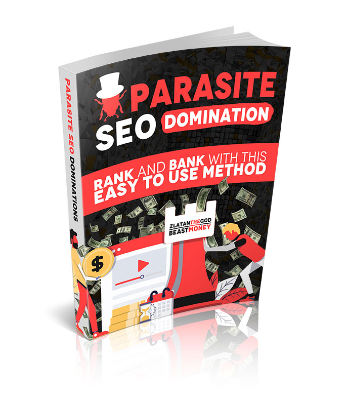 Parasite SEO Domination Ebook Cover