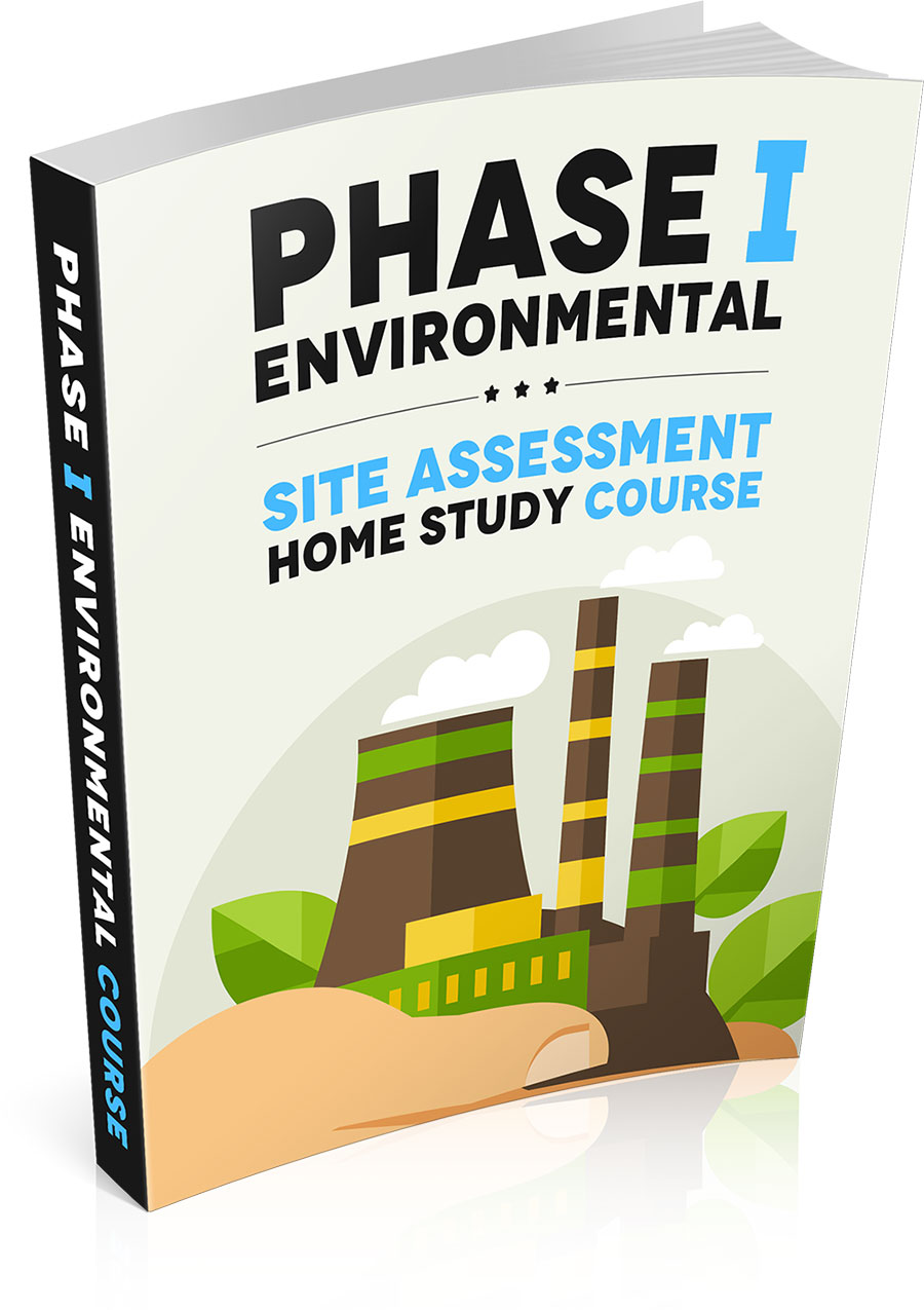 Phase 1 Enviromental Assessment Home Study Course eCover Design