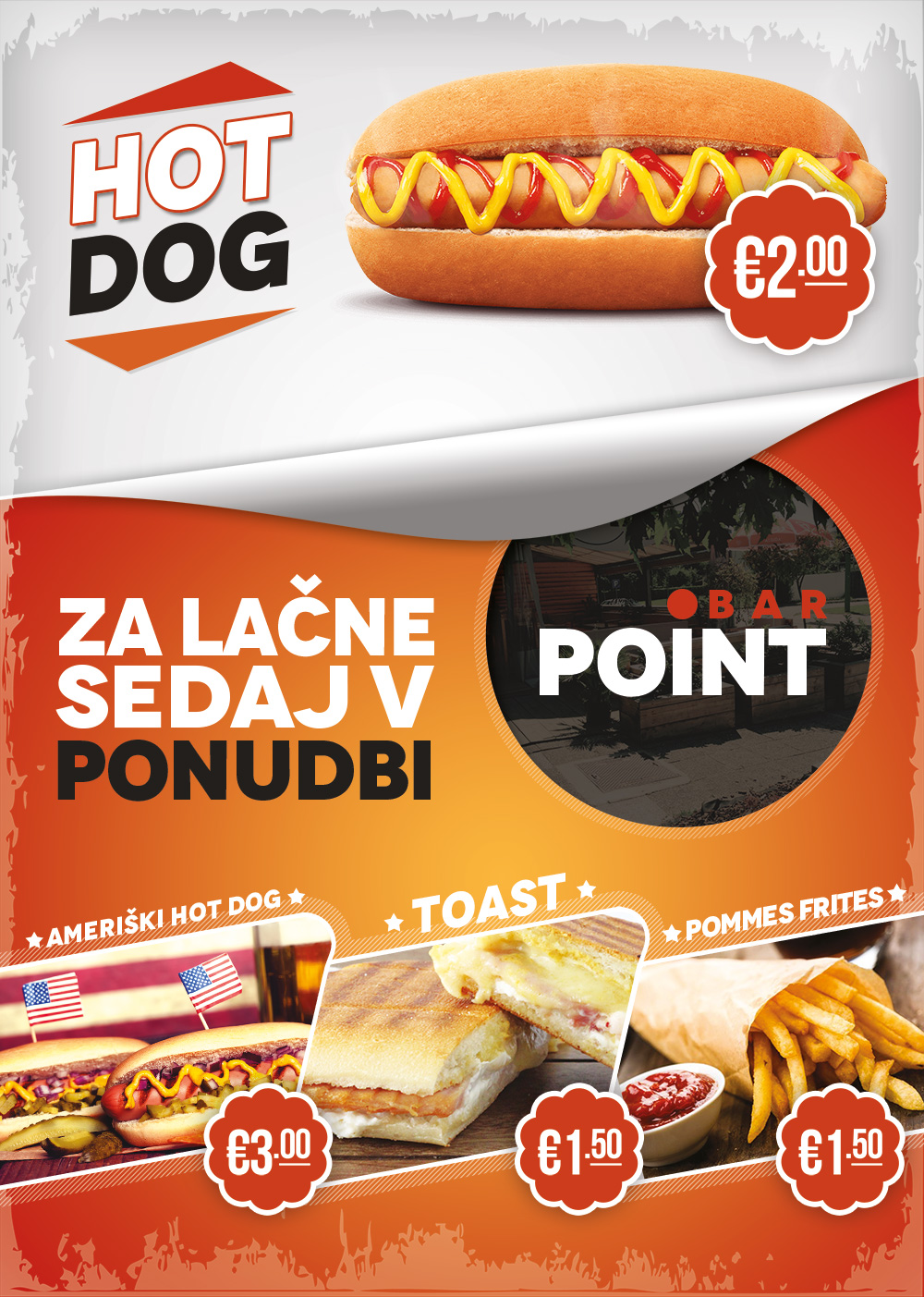 Point Bar Flyer Design