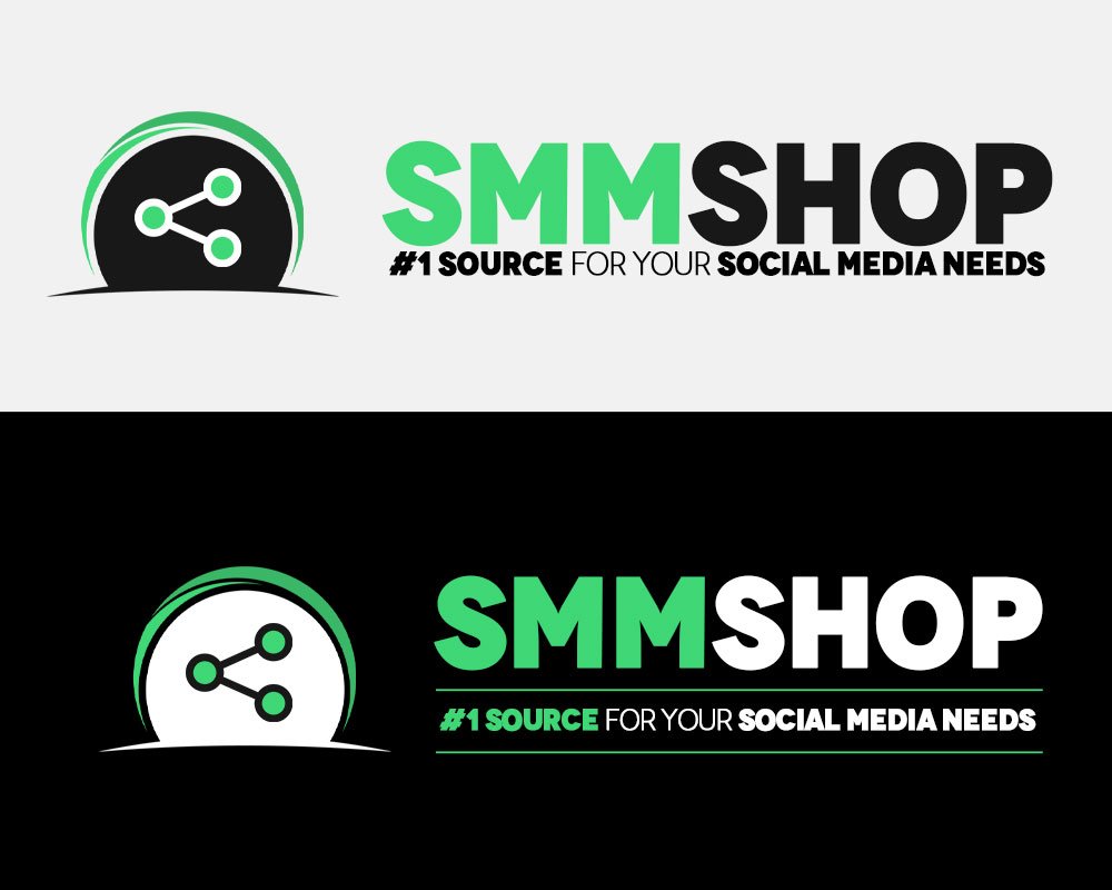 SMM Shop Logo Design