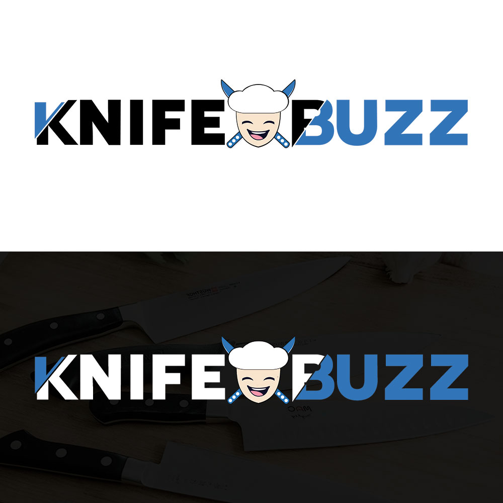 KnifeBuzz Logo Design